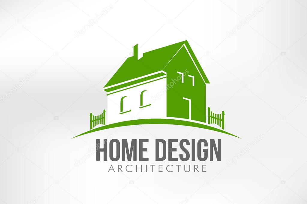 Home Design Vector illustration — Stock Vector © deskcube #39874549