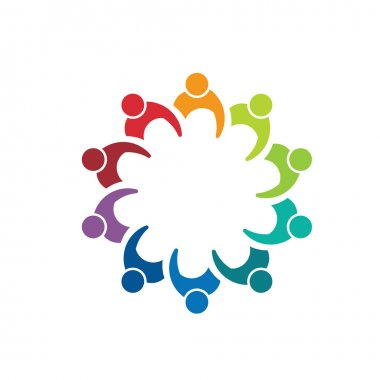 Team meeting 10 image. Concept of teamwork, executive reunion, directors.