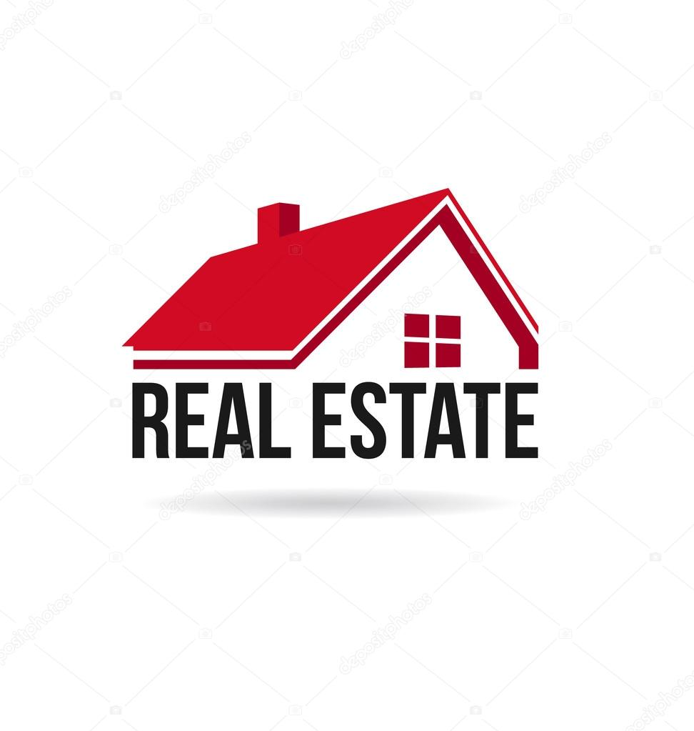Red House Real Estate Image Logo Stock Vector Deskcube