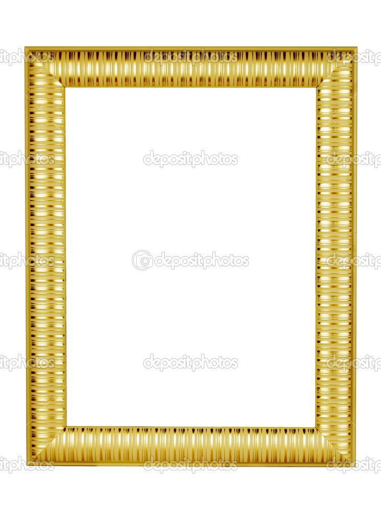 marco de oro — Fotos de Stock © xjbxjhxm #21993619