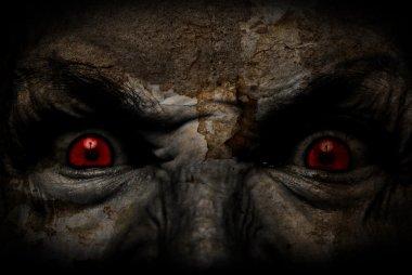 Demonic ugly fac