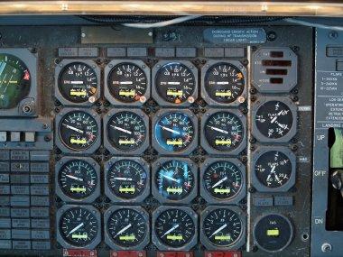 Jet Airplane Cockpit Equipment