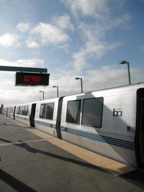BART Train at West Oakland Station