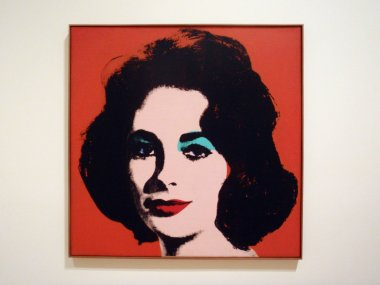 Red Liz By Andy Warhol at the SFMOMA