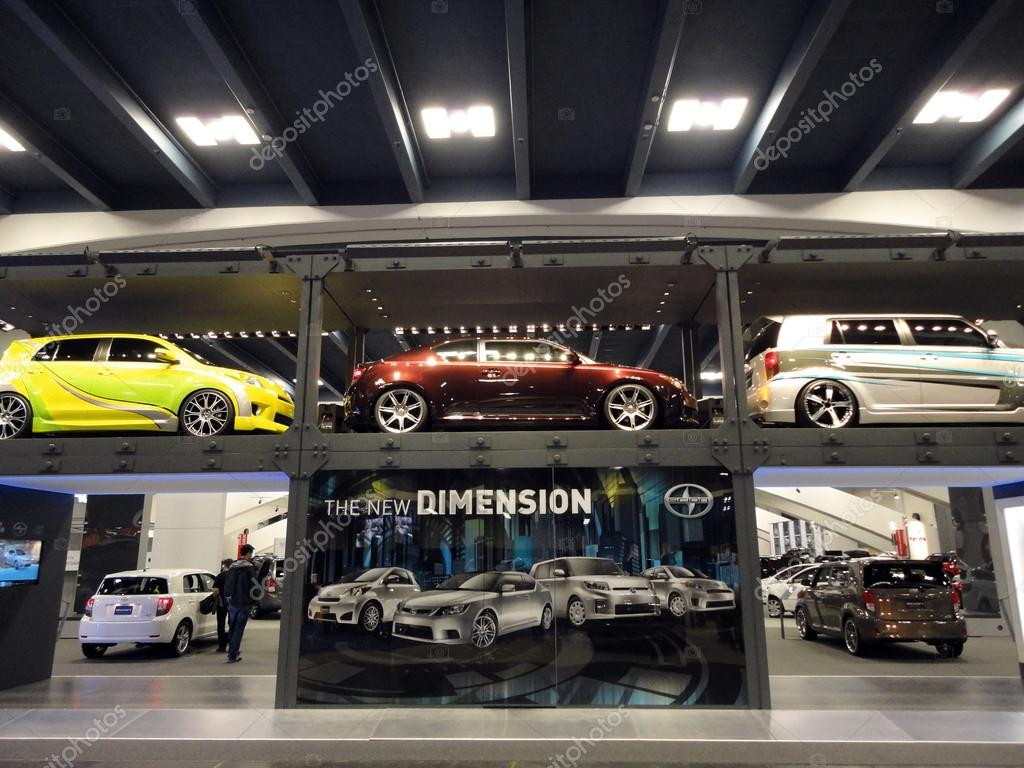 Two Floor Display Of Scion Cars Stock Editorial Photo Ericbvd - Car show display flooring