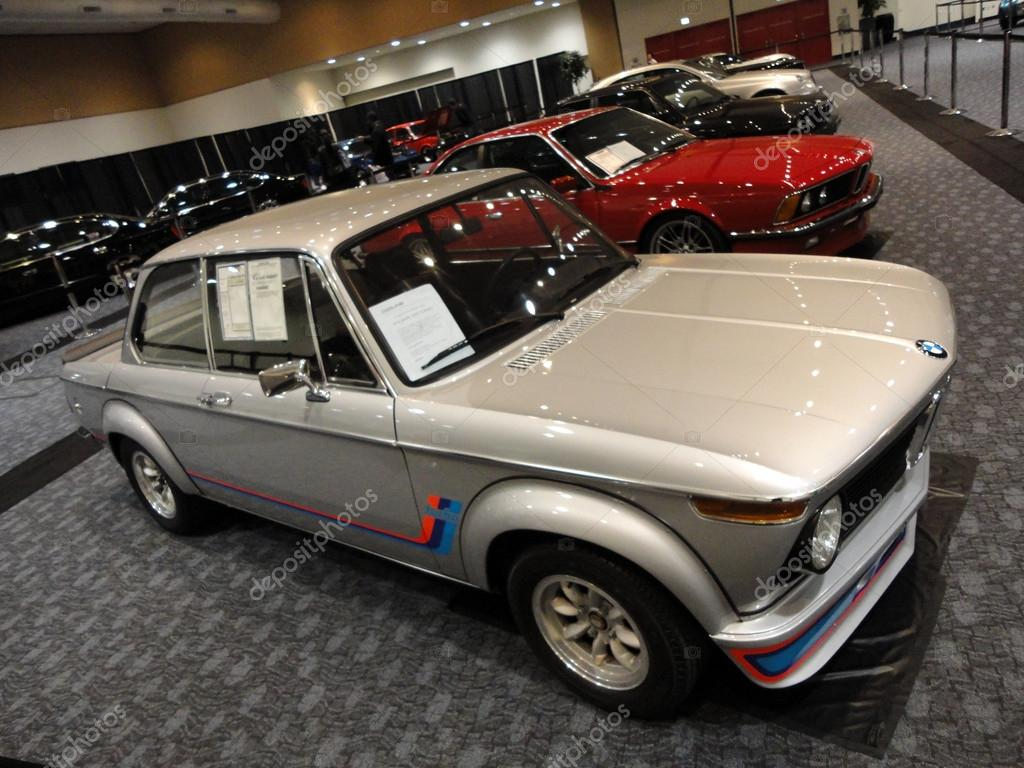 Old School BMW and other classic cars displayed – Stock Editorial ...