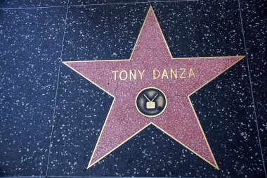 Tony Danza's star on Hollywood Walk of Fame