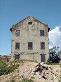 Fotografie heruntergekommenen Quartiermeister, aufbauend auf die Insel alcatraz
