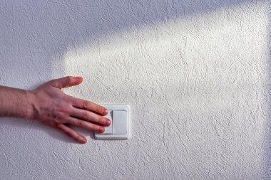 Turning light switch