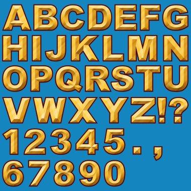 Chiseled Block Letters