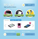 Fotografie Mini e-commerce webové stránky šablona