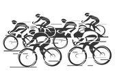 peloton cyklu závod