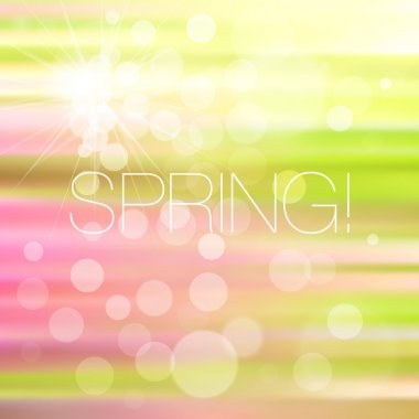 Bright mosaic spring background clip art vector