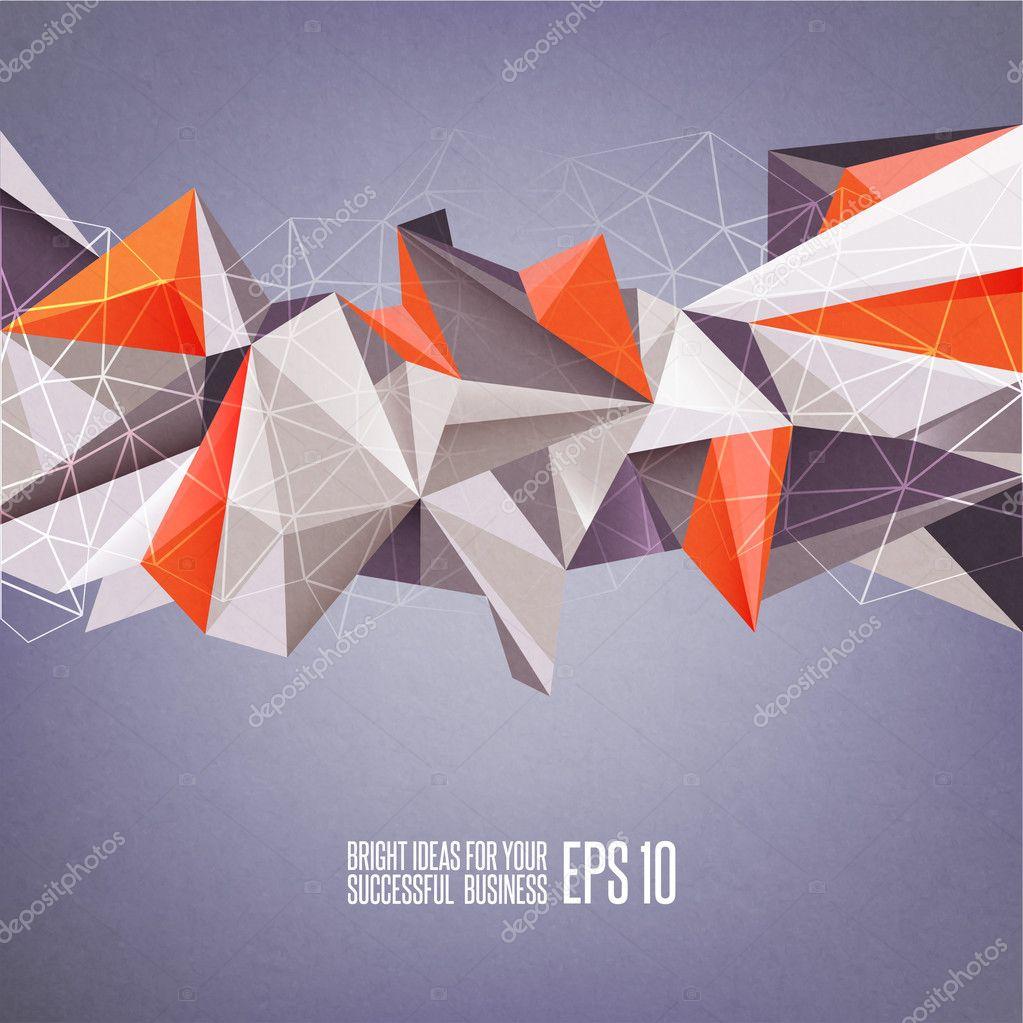 Abstract geometric vector illustration