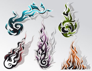 Fire elements set