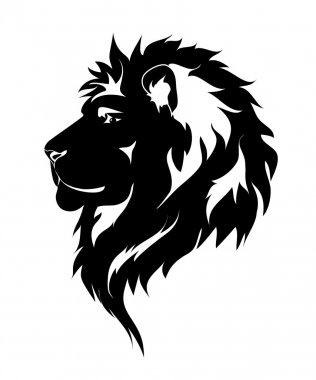 Graphic lion