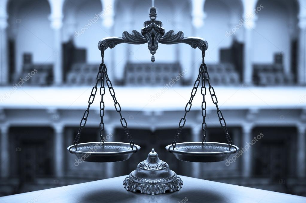 Decorative Scales of Justice  Stock Photo #21641113