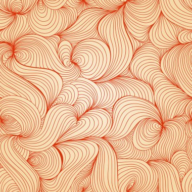 Retro waves texture (seamless pattern)