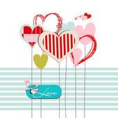 přání srdce s láskou zprávou