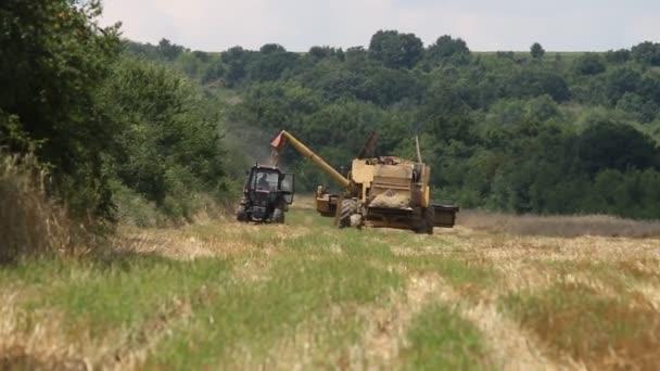 kombinovat načítání traktor