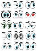 Kreslený oči
