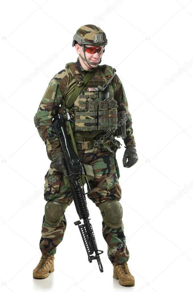 46796f32faec a NATO katona teljes felszerelés — Stock Fotó © Shell114 #41985409