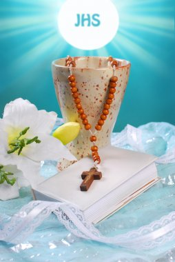 the first holy communion still life