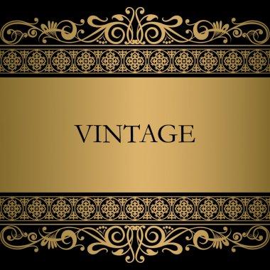Vintage vector background stock vector