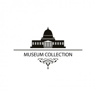 House Museum Icon Vector