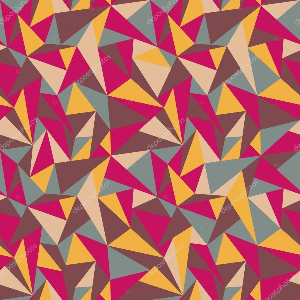 Geometrische Muster Bunt