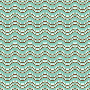Geometric wave seamless pattern background