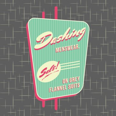 1950s Storefront Style Logo Design