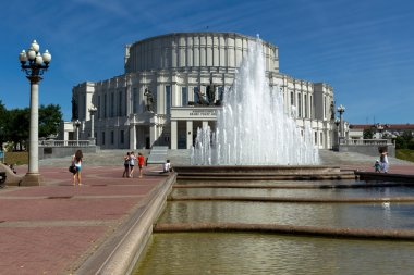 мThe National Opera and Ballet Theatre of Belarus in Minsk