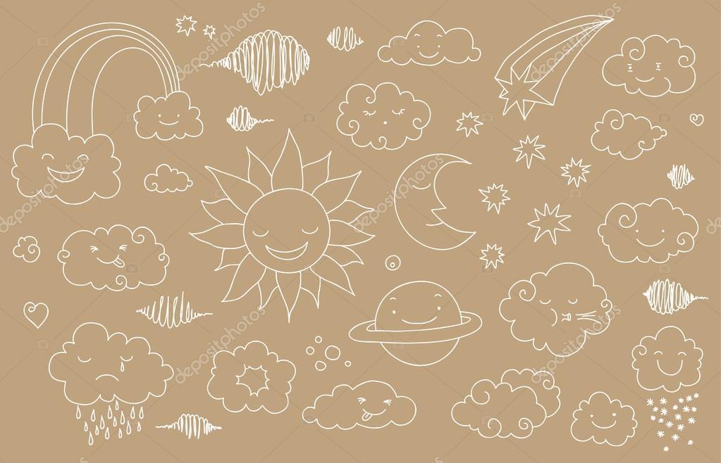 Sky doodle