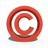 szerzői jogok szimbólum