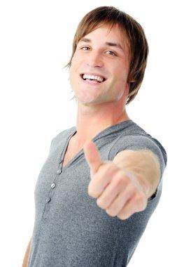 positive hand gesture