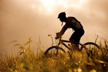 mountainbike man outdoors