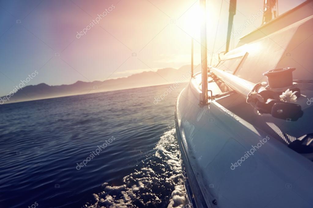 barca a vela oceano