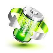 zelené baterie indikátor plné úrovně