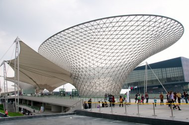 The giant funnel in Expo2010