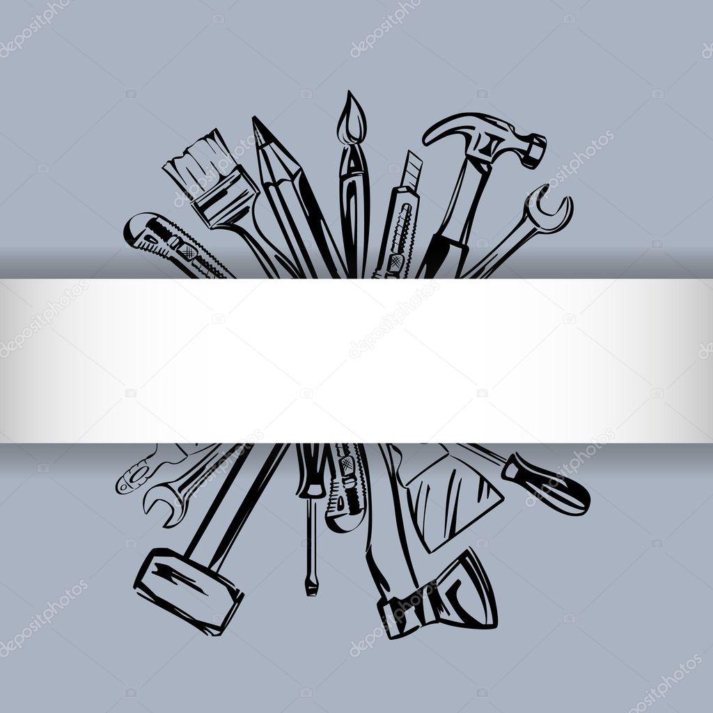 Tools vector set