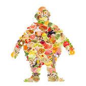 Fotografie Obezita symbol