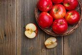 Fotografie Red apples