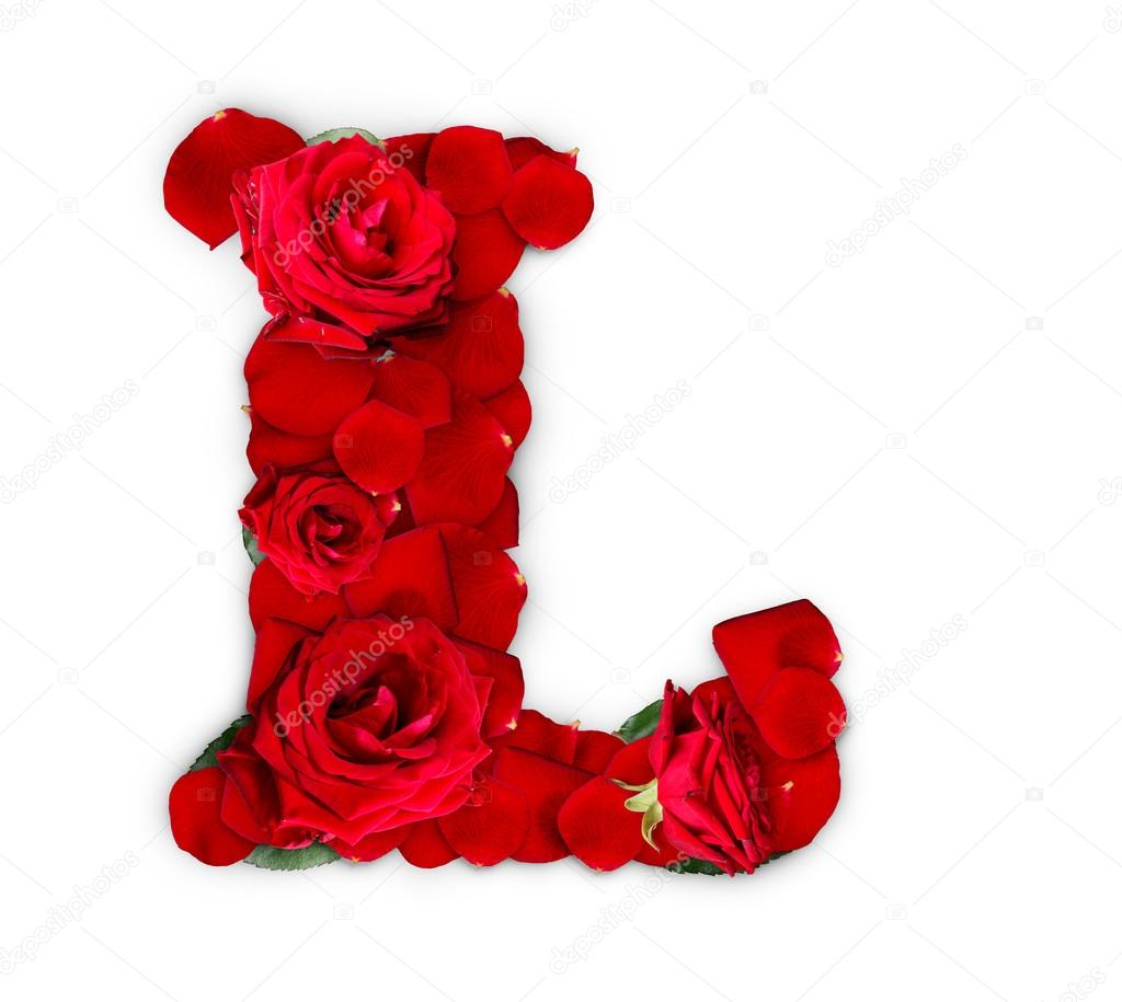 letter l stock photo  u00a9 grafvision 39112949 roses clipart floral roses clip art pictures
