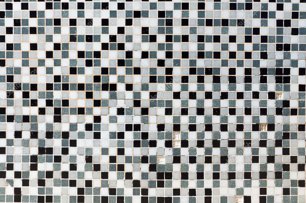 Weiß Schwarz Und Grau Mosaik Fliesen Stockfoto Elxeneize 31034573