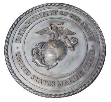 US Marine Corps commemorative plaque in Washington DC