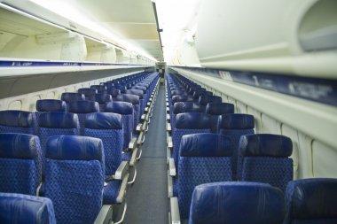 Airplane seat stock vector