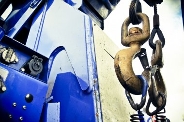 Rescue recovery truck hooks