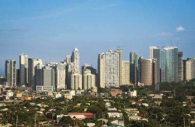 Fort bonifacio skyline makati city manila philippines