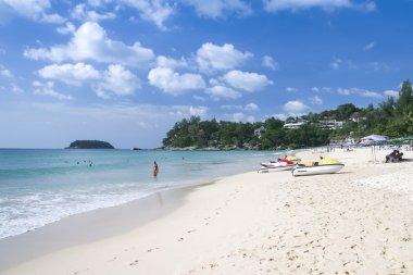 kata beach tourists phuket island